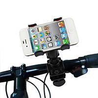 Универсальный велосипедный держатель для телефона крабик