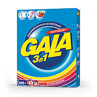 Порошок стиральный автомат GALA, 400г, Яркие цвета