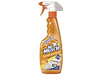 """Средство чистящее для кухни """"Мистер Мускул"""" с распылителем, 500 мл, Свежесть лимона"""