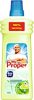 """Средство жидкое для мытья пола и стен универсальное """"MR. PROPER"""", 750 мл, бодрящий лайм и мята"""