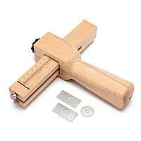 Регулировки полосы и резак ремень кожи ручной режущий инструмент лезвием DIY