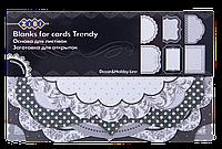 """Заготовка для открыток """"Trendy"""" 10.2*15.3см"""
