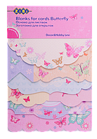 "Заготовка для открыток ""Butterfly"" 10.2*15.3см"