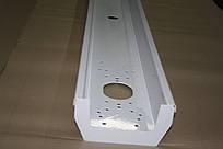 Бампер металевий білий