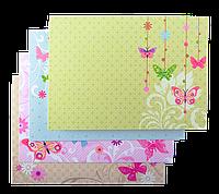 """Заготовка для открыток """"Flutter"""" 10.5*14.8см"""