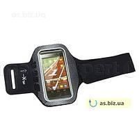 Чехол Natec повязка на руку для смартфона X5 Extreme Media черный