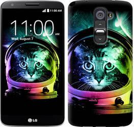 """Чехол на LG G2 Кот-астронавт """"4154c-37-328"""""""