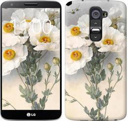 """Чехол на LG G2 Raoul de Longpre. Цветы """"1973c-37-328"""""""