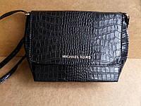 Стильная сумка клатч под кожу змеи