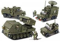 """Конструктор Sluban """"Сухопутные войска 2"""" 865 деталей M38-B0310"""