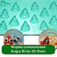 Форма силиконовая Angry Birds 3D Люкс