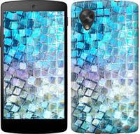 """Чехол на LG Nexus 5 Переливающаяся чешуя """"227c-57-328"""""""
