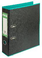 Регистратор BUROMAX, А4, 70 мм, PP, бирюзовый/черный