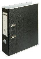 Регистратор BUROMAX, А4, 70 мм, PP, белый/черный