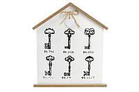 Ключница деревянная (6 крючков) BonaDi 443-545