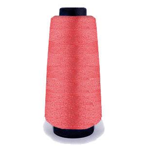 Нитка обувная капроновая 375 текс 450 грамм (0.75 мм) красная - нить крученая сапожная