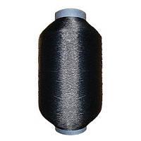 Нить полиамидная обувная 29 текс 1х3 черная - 250 грамм