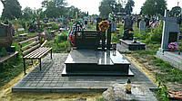 Пам'ятник  гранітний подвійний Р505