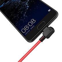 Кабель USB Type-C Orico TCW-10 с двусторонним USB разъемом для зарядки и передачи данных (Красный, 1м), фото 3