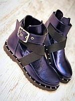 Женские кожаные ботинки в стиле Diesel Tres!  весна резинки ремни 36 37 38 39 40 туфли