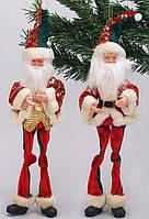 Новогодняя игрушка Санта 36см, 2 вида BonaDi NY14-284
