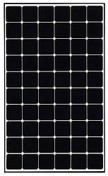 Сонячна батарея LG370Q1C NeON-R A5 370W Моно 30RSBB