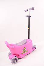 Самокат Babyhit Enjoy G2-Pink 25609