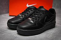 Кроссовки мужские Nike  Air Force, черные (12042), р. 41-46