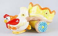 Декоративная подставка для яиц 22см Курочка BonaDi EG10-D15