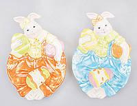 Блюдо для яиц и Пасхи 22.5см Кролик, 2 вида BonaDi EG10-D23