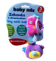 Мягкая музыкальная игрушка подвеска 12614 B Baby Mix