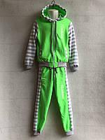 Трикотажный костюм для девочек (4-7 лет) оптом в Одессе (7км).