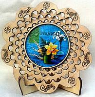 Тарелка сувенирная. подарок к 8 марта