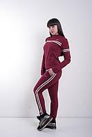 Женский спортивный костюм весна-осень двухнитка оптом