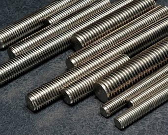 Резьбовая шпилька с трапецеидальной резьбой по всей длине DIN 976, DIN 975