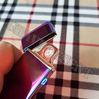 USB зажигалка с сенсорным включением + гравировка на заказ, фото 1
