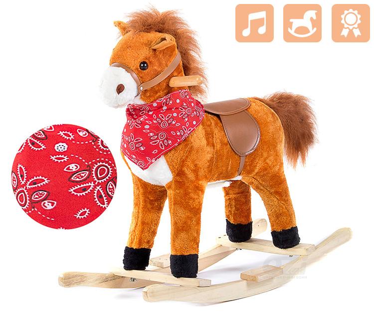 Лошадка-качалка WESTERN марки PREMIUM