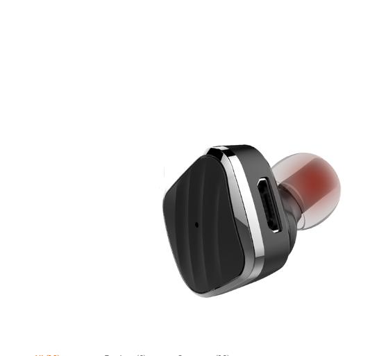 Беспроводной наушник JOYROOM Bluetooth Earphone Wireless JR-S1 Черные (SUN0130)
