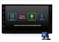 Автомагнитола Sertec jR167A на Андроид универсальная