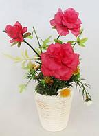 Декоративная композиция из искусственных цветов в горшке 20см BonaDi 722-434