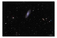 Высококачественный фотопринт Мессье 106 BonaDi STAR11