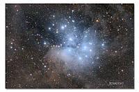 Высококачественный фотопринт Плеяды BonaDi STAR15