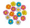 """Пасхальный декор """"Полевые цветы"""" голубые, розовые, оранжевые Добрик уп36"""