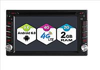 Автомагнитола Sertec jDGS6666F на Андроид универсальная