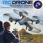Квадрокоптер RC Drone WI-FI камера,Led-подсветка,складывающийся корпус, фото 5
