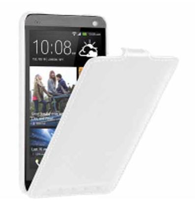 Чехол-флип Vetti Craft Slim HTC One Normal Series white