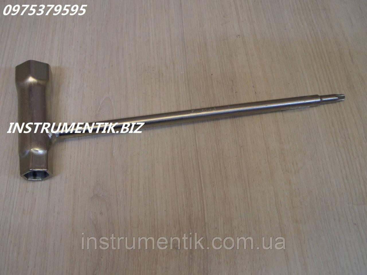 Ключ свечной STIHL 13*19 мм. TORX 27 (звездочка) для мотокос
