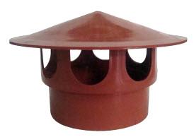 Грибок вентиляционный  160 мм  оранжевый