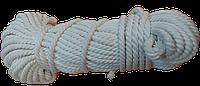 Канат хлопчатобумажный Ø 6 мм - 50 м спортивный, декоративный