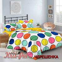Полуторный набор постельного белья 150*220 из Сатина №329AB KRISPOL™